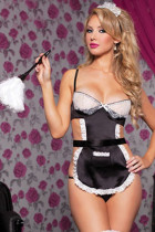 Whoesale Maid Cosplay Sexy Costumes Lace Patchwork