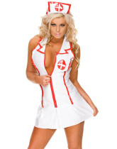 Deep V Sexy Nurse Costumes