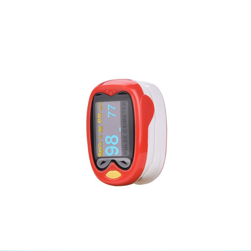 CkeyiN Professional Fingertip Pulse Oximeter for Kids Rechargeable SpO2 and PR Monitor with Lanyard