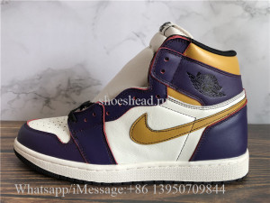 Nike SB x AJ1 Retro High OG Court Purple Sail University Gold