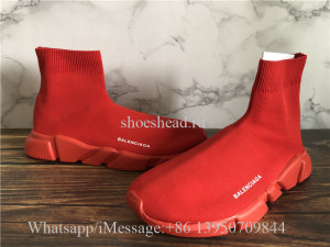 Balenciaga Speed Sock Trianer All Red