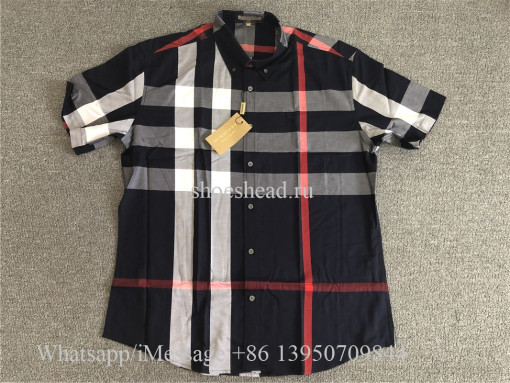 Burberry Windsor Check Short-Sleeve Shirt