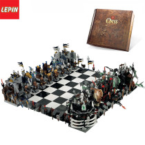 Lepin 16019 Movies Meries 2475Pcs Creative Castle Large Chess Building Blocks Children Toys