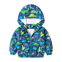Children Boutique Clothing Kids Cartoon Printed Jacket For Boy