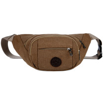 Canvas Belt Bag Fanny Pack Quality Men Waist Bag