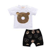 Trendy Infant Clothing Printed Newborn Baby Clothes Sets