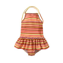 Summer Kids Swimsuit One Piece Swimwear For Girls