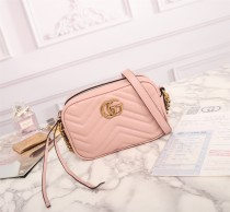 Gucci new high quality leather woman shoulder bag camera bag