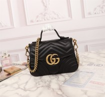Gucci TOP Women Crossbody Shoulder Bag Leather