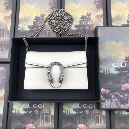 Gucci 476432 HOT High Quality Woman Chain Wallet + Box