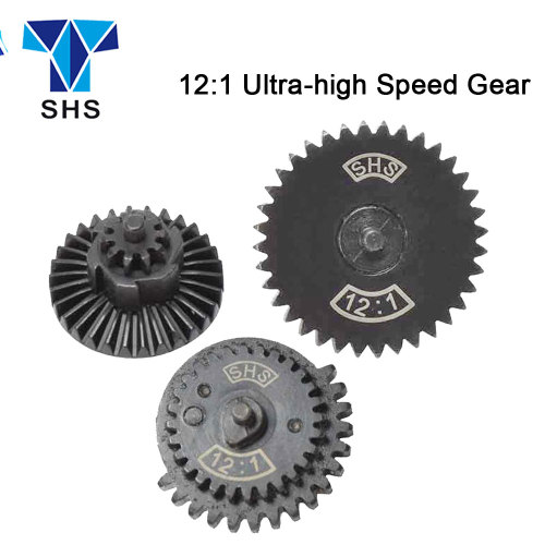 SHS 12:1 Ultra-high speed Gear Set For AEG Gearbox