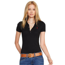 Women's Classical High Quality Polo Shirt 9C82 006