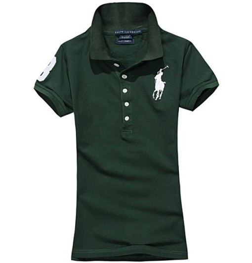 Women's Classical High Quality Polo Shirt 6EC2 015