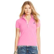 Women's Classical High Quality Polo Shirt 9C82 012