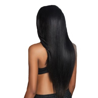 360 Lace Front Wig Straight Natural Color Human Hair for Black Women
