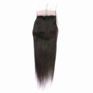 HD Swiss Transparent Lace Closure 4*4 Lace Human Virgin Hair