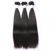 4 PC Bundle Deals Natural Color Straight And Body Wave 10A Top Quality Real Human Hair