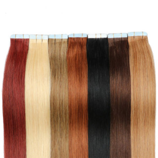 Tape-in Hair Extenstion 100pc/lot Human Hair 20pc Straight Style