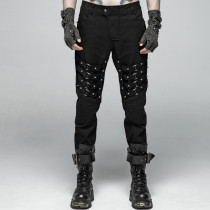 Punk Heavy Metal Men's Trousers
