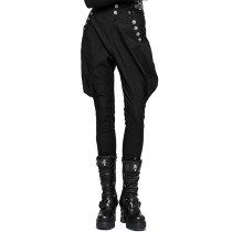 Punk women's Military Uniform High Waist Riding Breeches