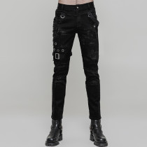 Punk Personality Vintage Men's Trousers