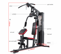 Multi home gym station dual function gym fitness equipment gym equipment all in one