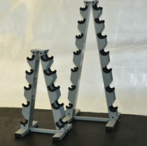 dumbbell A-rack
