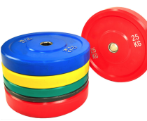 5kg 10kg 15kg 20kg 25kg barbell bumper weight plate rubber competition bumper plate