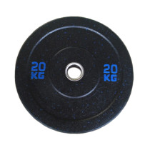 Gym weightlifting weight plate rubber bumper plate