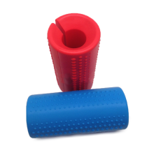 Non-slip barbell grip weightlifting Silicone Barbell Grip