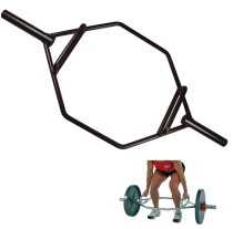 Gym weightlifiting chormed dip shrug training deadlift hex trap bar