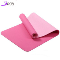 TPE double color yoga mat 6mm mat