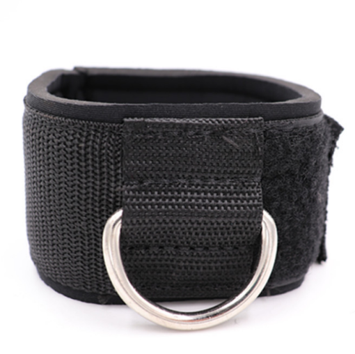 Fitness room tension buckle plus cotton ankle strap leg training gear ankle buckle protector elastic rope fittings