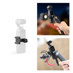 PGYTECH Data Port to Cold Shoe and Universal Mount Adapter for DJI OSMO POCKET