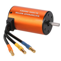 3660 3800KV Sensorless Brushless Motor with 60A ESC for 1:10 RC Model Car - Orange