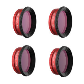 PGYTECH 4Pcs Filters Set Kits ND4/PL ND8/PL ND16/PL ND32/PL for DJI Mavic Air - Professional Edition