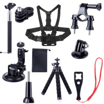Expansion Accessories Kit Extension Rod Chest Strap Bracket Suction Cup Tripod for DJI OSMO ACTION/Osmo Pocket/Gopro