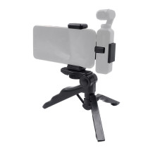 Mobile Phone Fixed Bracket Phone Clip with Tripod Stand for DJI OSMO Pocket Gimbal Camera