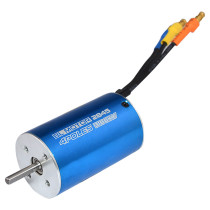 2845 3100KV Sensorless Brushless Motor for 1:12 1:14 RC Model Car - Blue