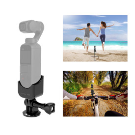 Gimbal Camera Multifunctional Expansion Accessories for 1/4 Adapter and GOPRO Adapter for DJI Osmo Pocket