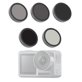 5Pcs Filters ND4-PL ND8-PL ND16-PL ND32-PL CPL Camera Lens for DJI OSMO ACTION