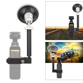 Gimbal Camera Multi-function Car Bracket with 1/4 Inches Interface and 3/8 Inches Interface for DJI OSMO Pocket