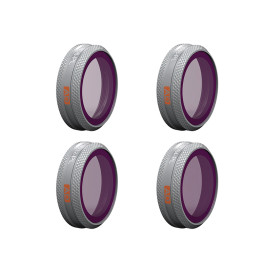 PGYTECH 4Pcs ND/PL Filters Set for DJI MAVIC 2 ZOOM - ND8/PL ND16/PL ND32/PL ND64/PL Filter (Advanced Version)