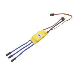 XXD 30A Electric Speed Controller for Brushless Motor 2212 HW Four-axis FPV Airplane - Welded 3.5mm Banana Connector Female and T Plug Male