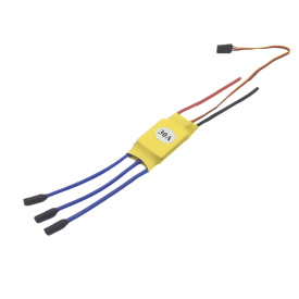 XXD 30A Electric Speed Controller for Brushless Motor 2212 HW Four-axis FPV Airplane - Welded 3.5mm Banana Connector Female