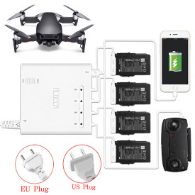6 in 1 Quick Charge Intelligent Charger with 2 Charging Modes for DJI MAVIC AIR