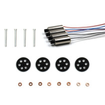 Parts Kit with Motor/Gear/ Main Shaft/Copper Cover for SG700 DM107 Foldable Quadcopter Drone