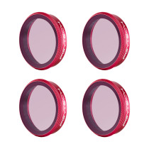 4Pcs ND Filters ND8 ND16 ND32 ND64 Filters for PGYTECH OSMO ACTION