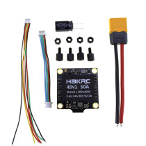 4-In-1 HAKRC 30A Electronic Speed Controller Miniature Flight Controller for FPV Game