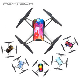 4-In-1 PGYTECH Body Sticker Suit Waterproof PVC Sticker Decal Skin Cover for DJI TELLO